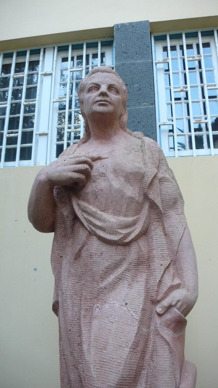 Escultura de Abrahan Cárdenes Guerra