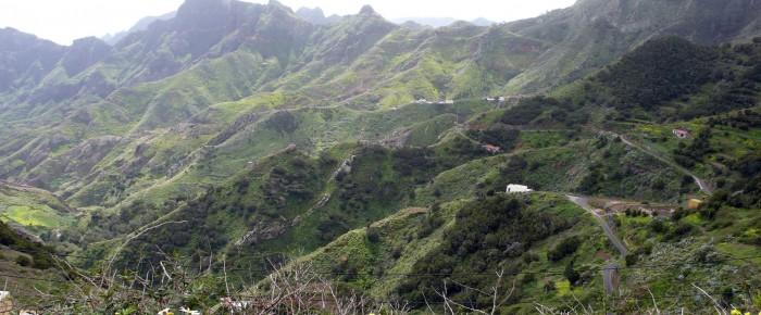 Macizo de Anaga, Tenerife.