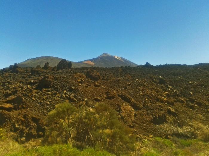 Malpaís y El Teide