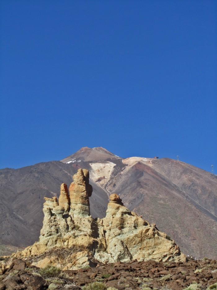 Roques y El Teide