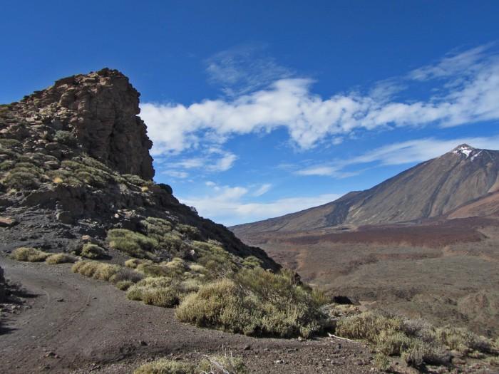 Roque y El Teide
