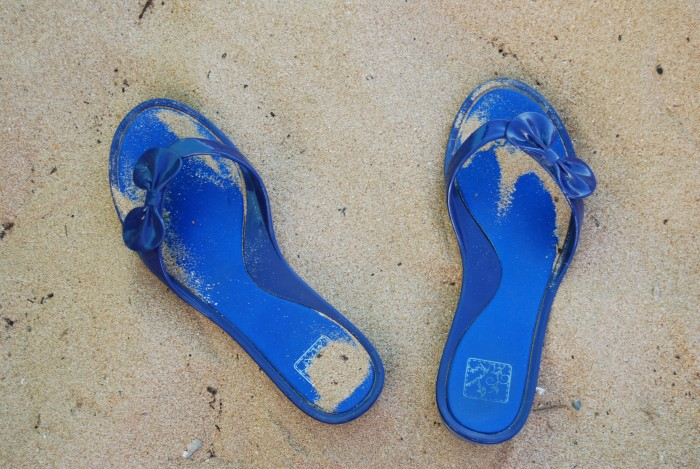 Cholas de playa