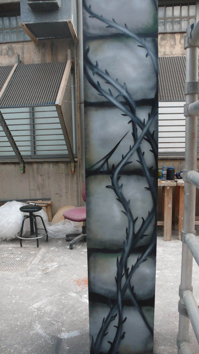 Detalle de mural
