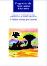 El Quijote cabalga por Canarias.