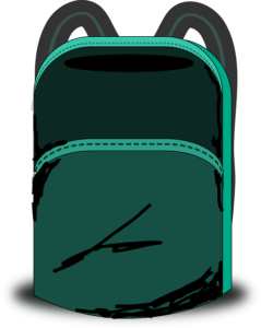 Las mochilas.
