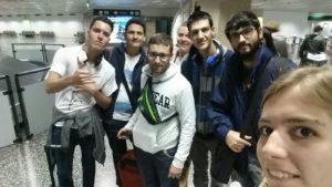 Llegada a Milán