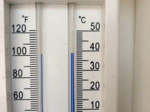 Ola de calor en mayo