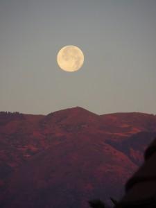 Sobre cumbre de Gran Canaria