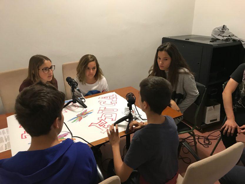 Nos visitan alumnos del CEIP Camino Largo
