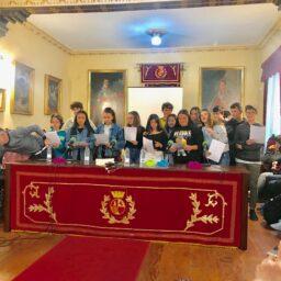 Programa especial por el Día Internacional del Libro, desde el salón de actos del IES Canarias Cabrera Pinto