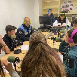 Hoy hemos recibido en nuestro centro a la Policía Municipal de San Cristóbal de La Laguna