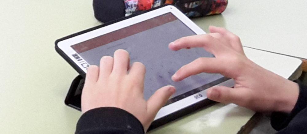Aprendemos con la tablet en la mochila