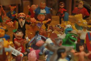 fiesta muñecos