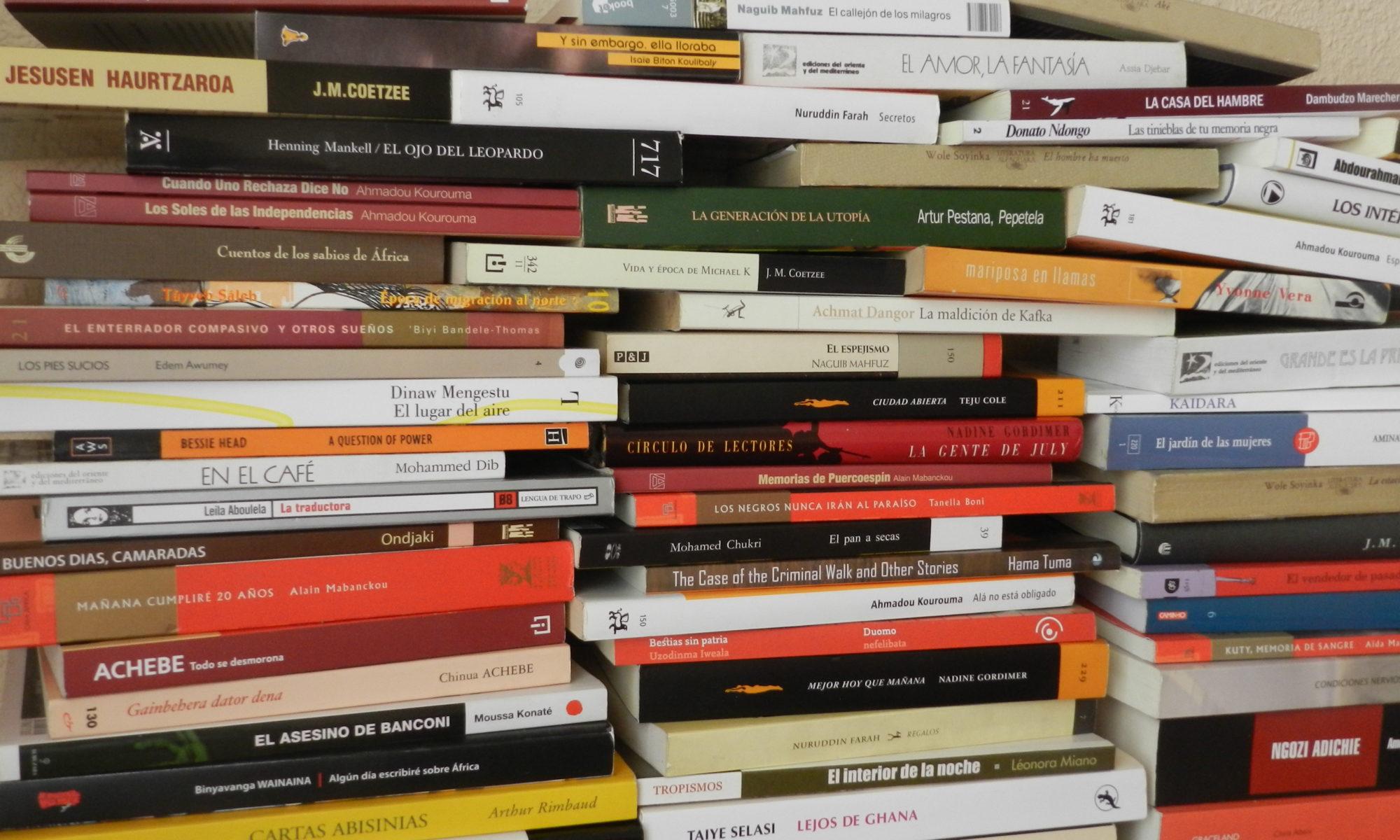 libros africanos