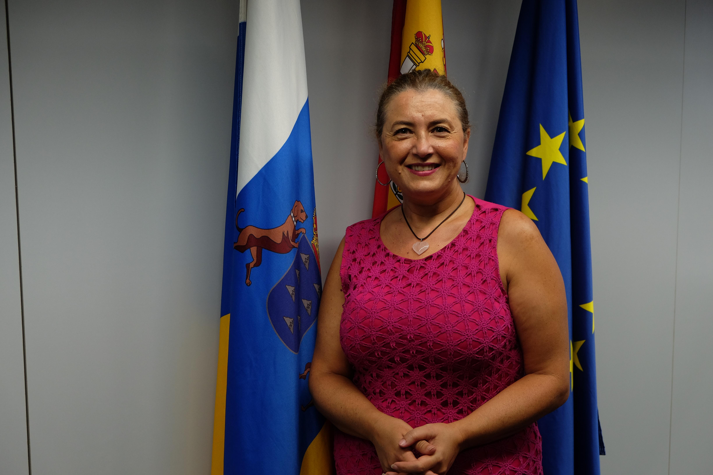 Pino de León, directora del Instituto Canario de Vivienda