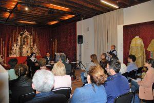 Instante presentación catálogo Museo Arte Sacro Las Claras