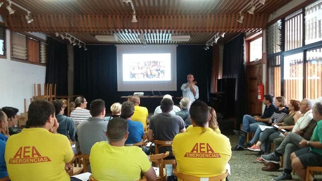 Celebración de la I Jornada del Voluntariado de Protección Civil en Canarias