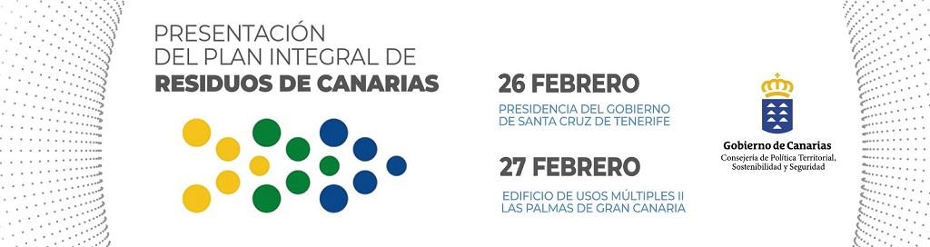 Presentación del borrador del Plan Integral de Residuos de Canarias