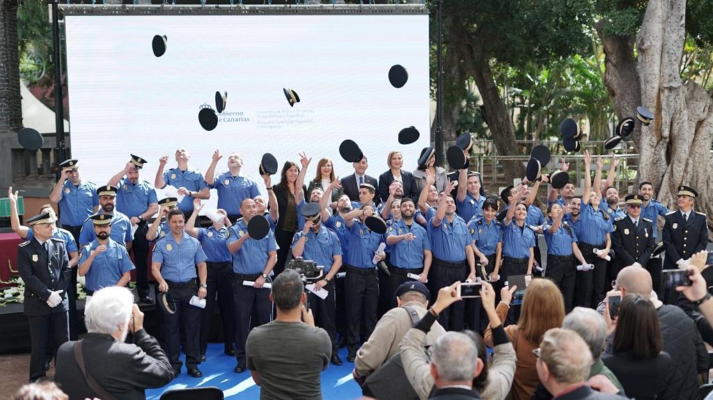 Acto de clausura de la 56º edición del Curso de Formación Básica de Policías Locales