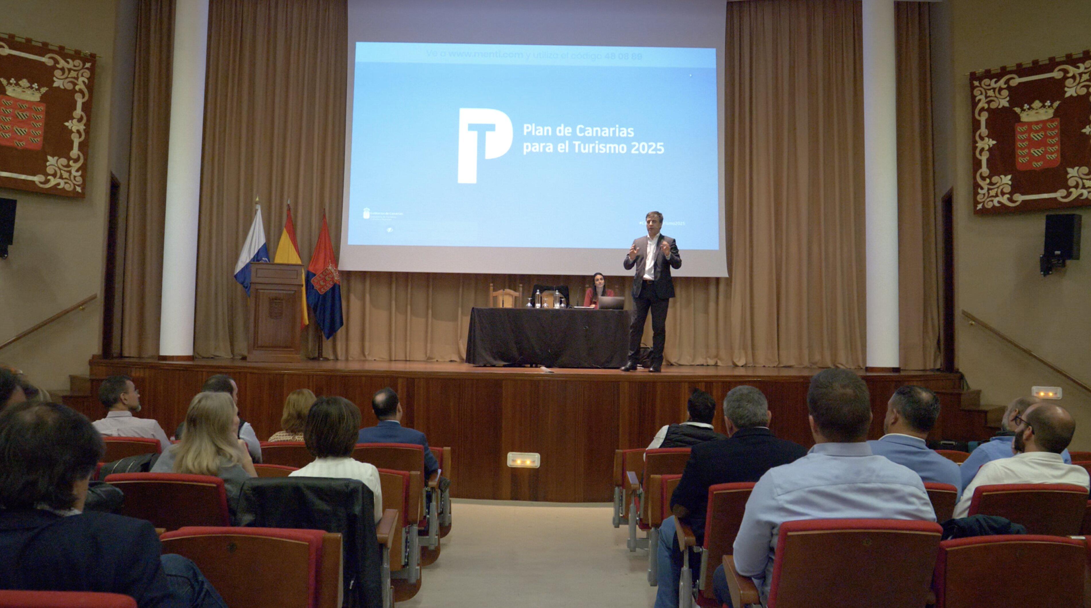 Votación del Plan Canarias para el Turismo en Lanzarote
