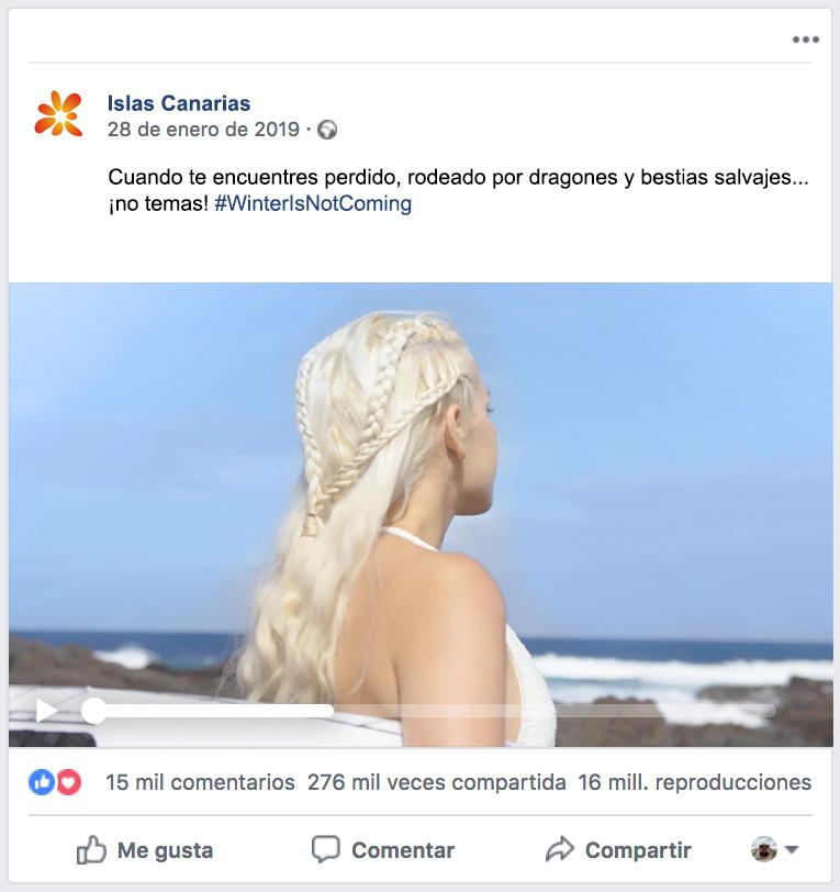 Imagen del Vídeo Winter Is Not Coming