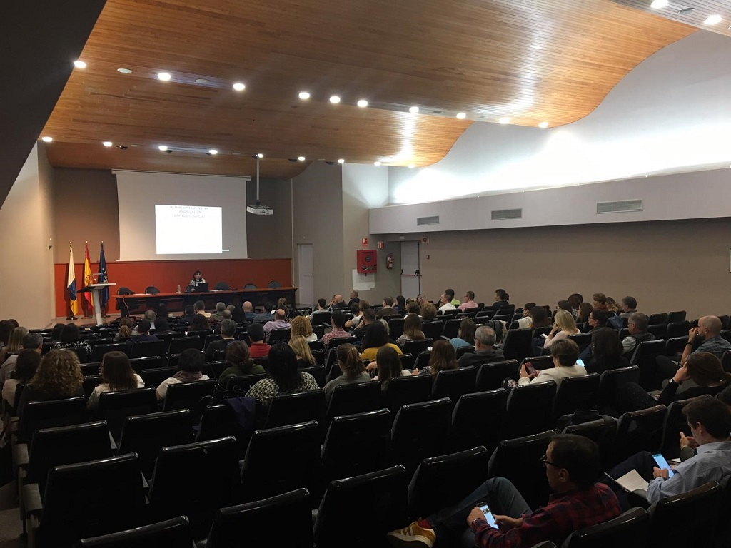 Transcurso de las charlas formativas sobre la Ley del Suelo