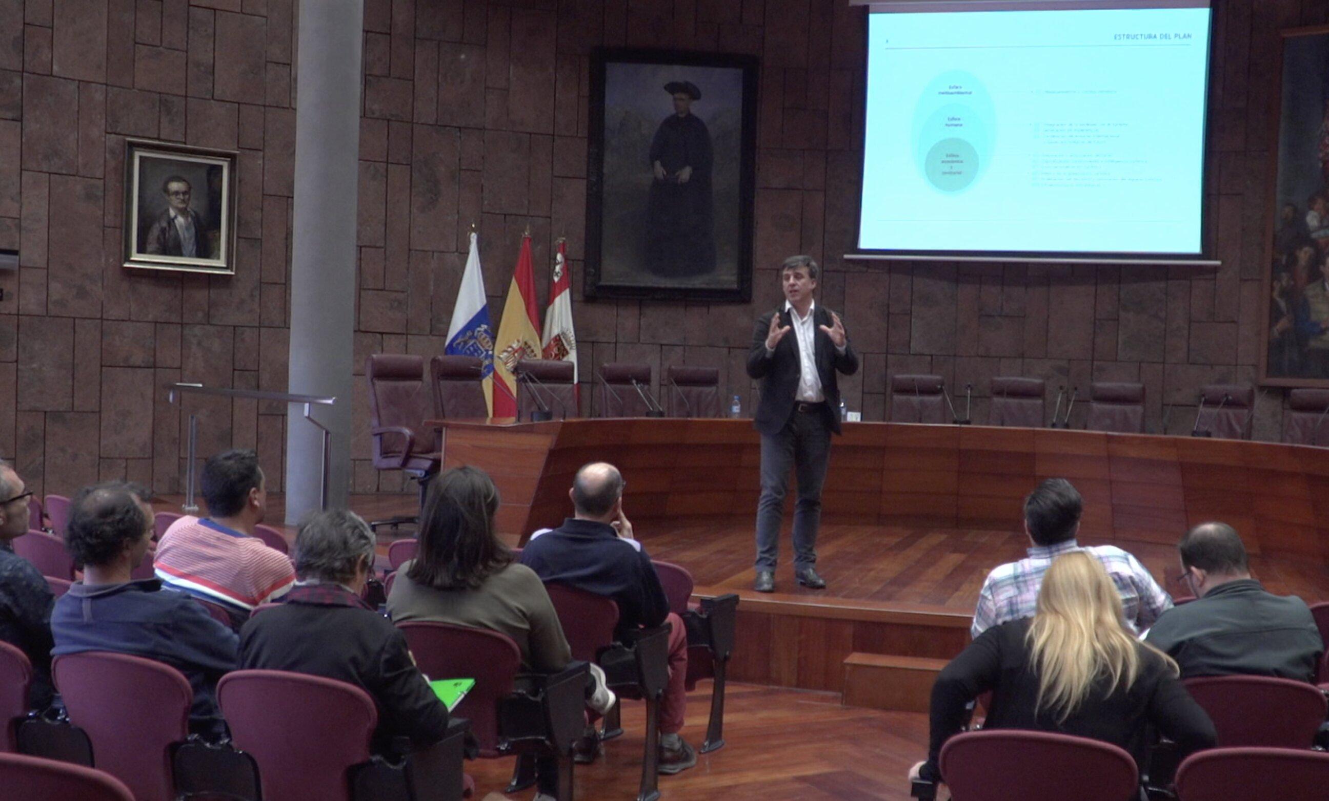 Votación Plan de Turismo La Gomera