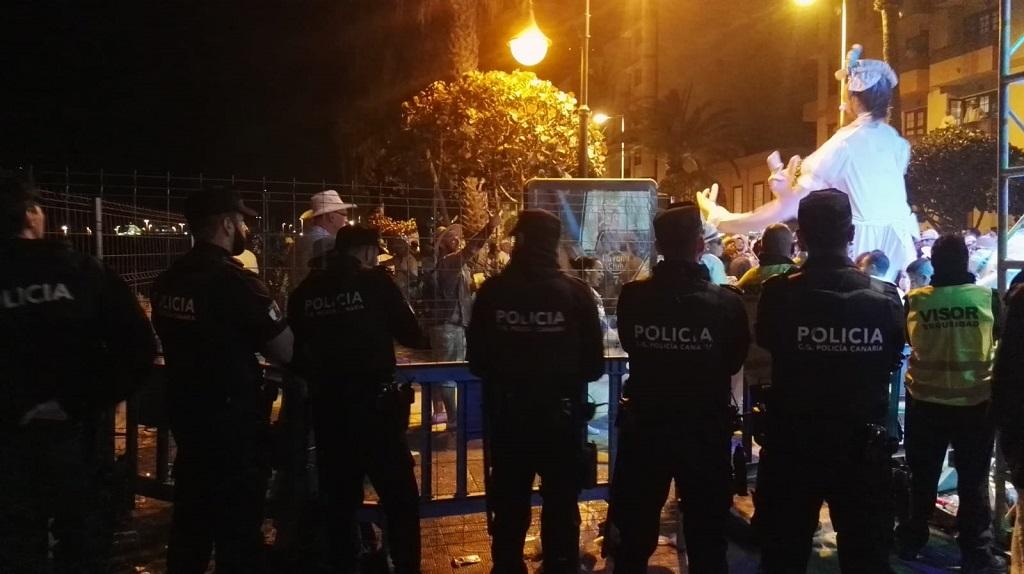 Miembros del Cuerpo General de la Policía Canaria