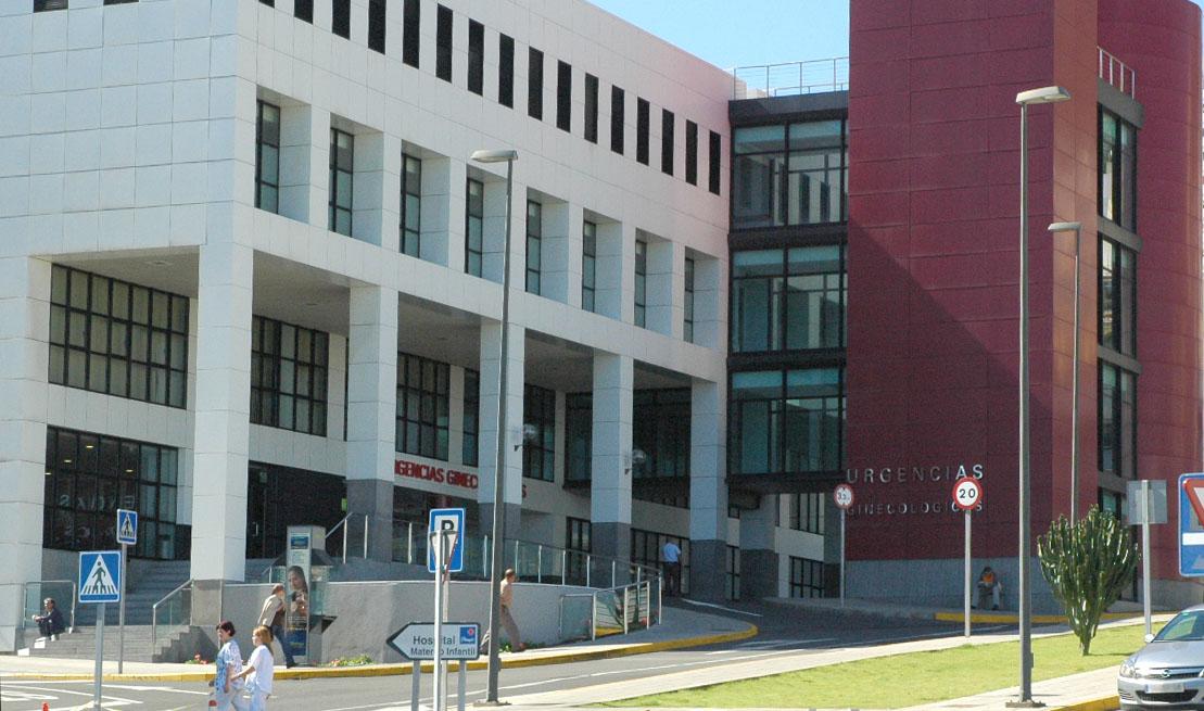 Fachada del Hospital Materno Infantill