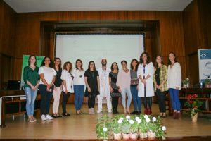 Organizadores y ponentes de las jornadas