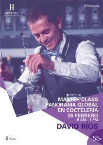 Hecansa acoge una master class de coctelería con David Ríos