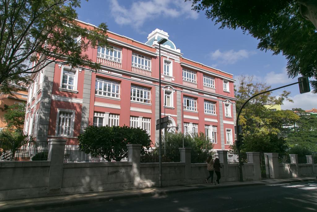 Sede de la Consejería de Sanidad en Tenerife.