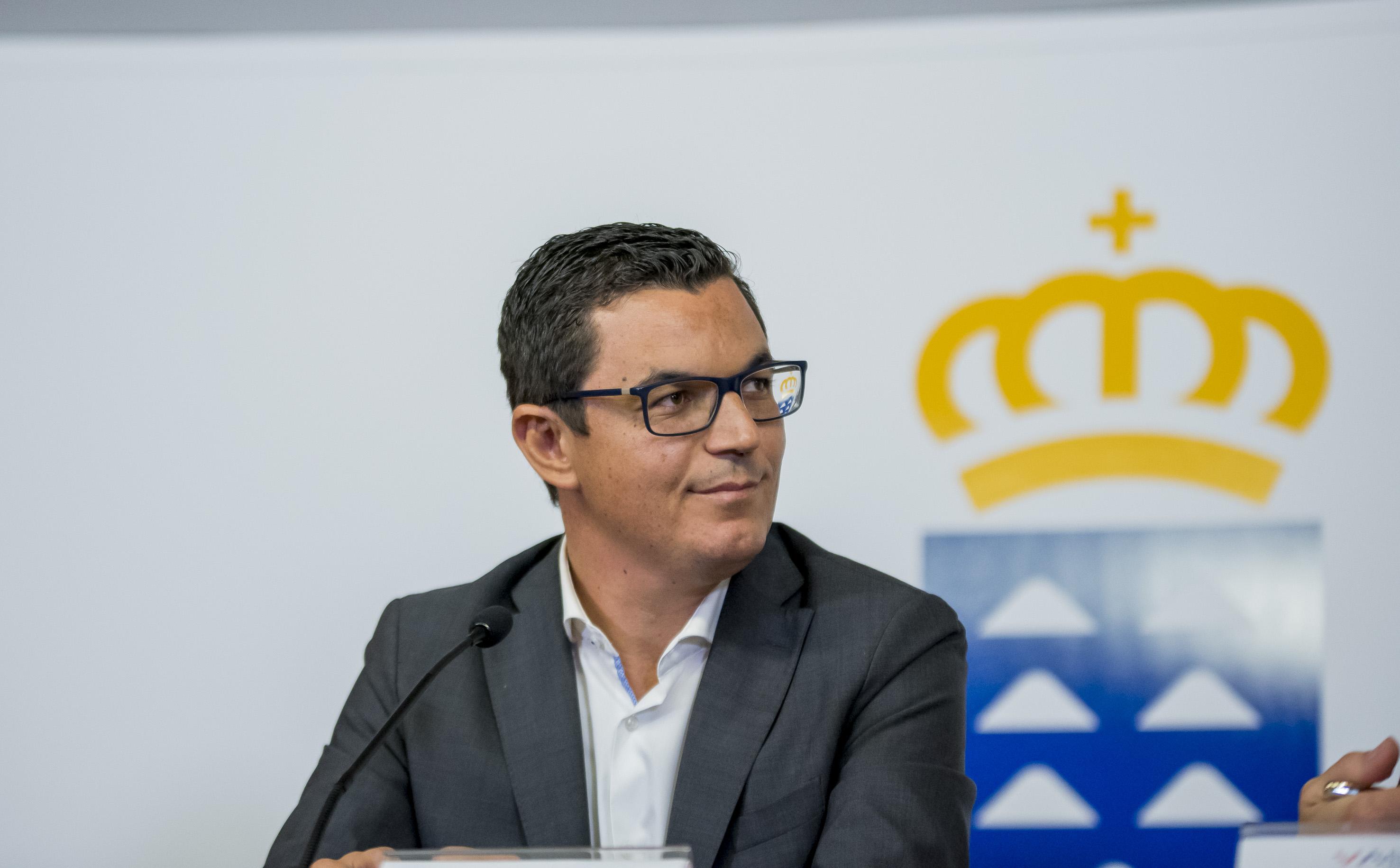 Pablo Rodríguez, vicepresidente y consejero de Obras Públicas y Transportes