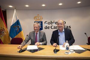 Pedro Ortega afirma que el nuevo Estatuto de Autonomía profundiza en la capacidad de autogobierno de Canarias
