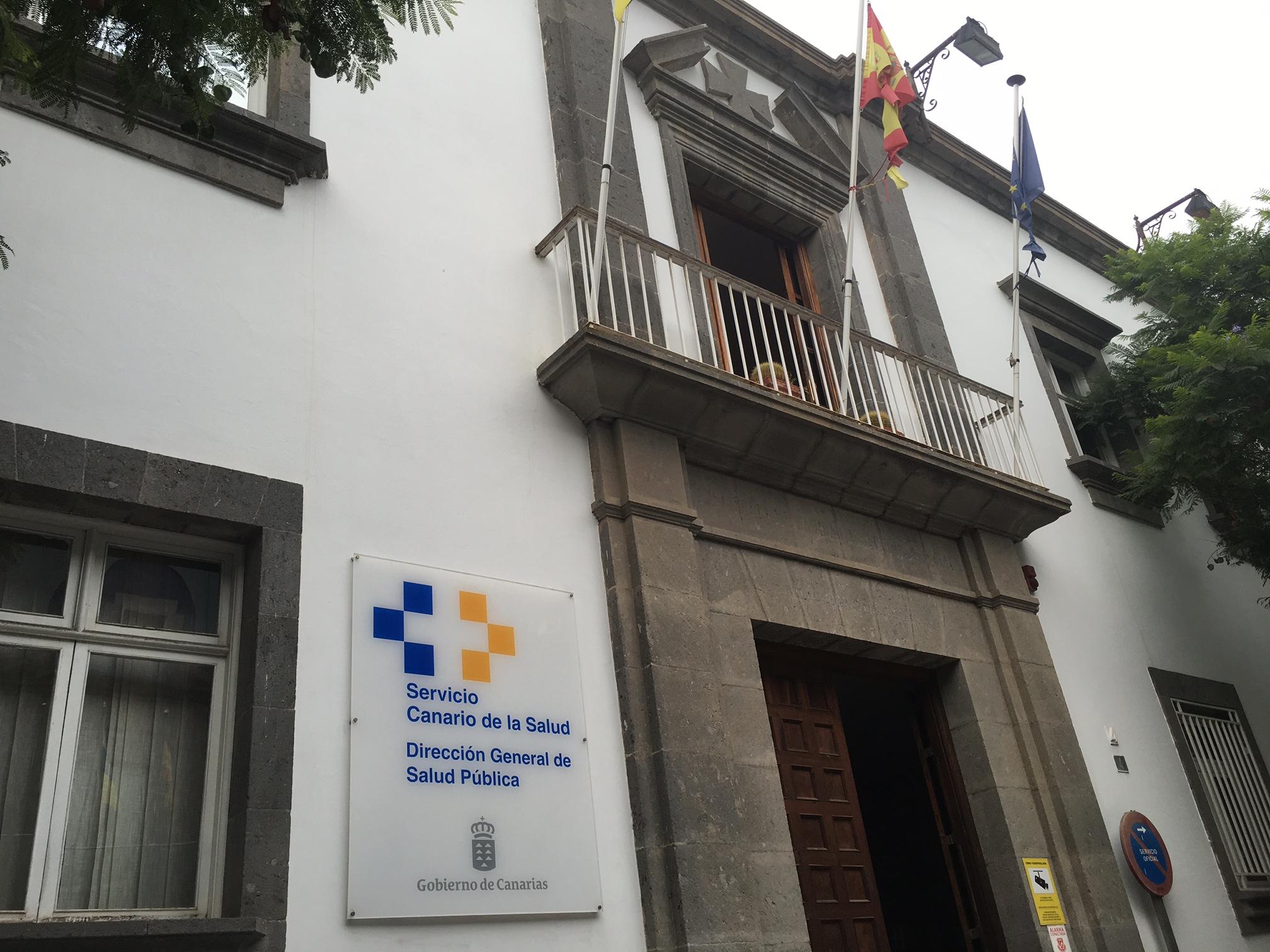Dirección General de Salud Pública en Las Palmas de Gran Canaria.