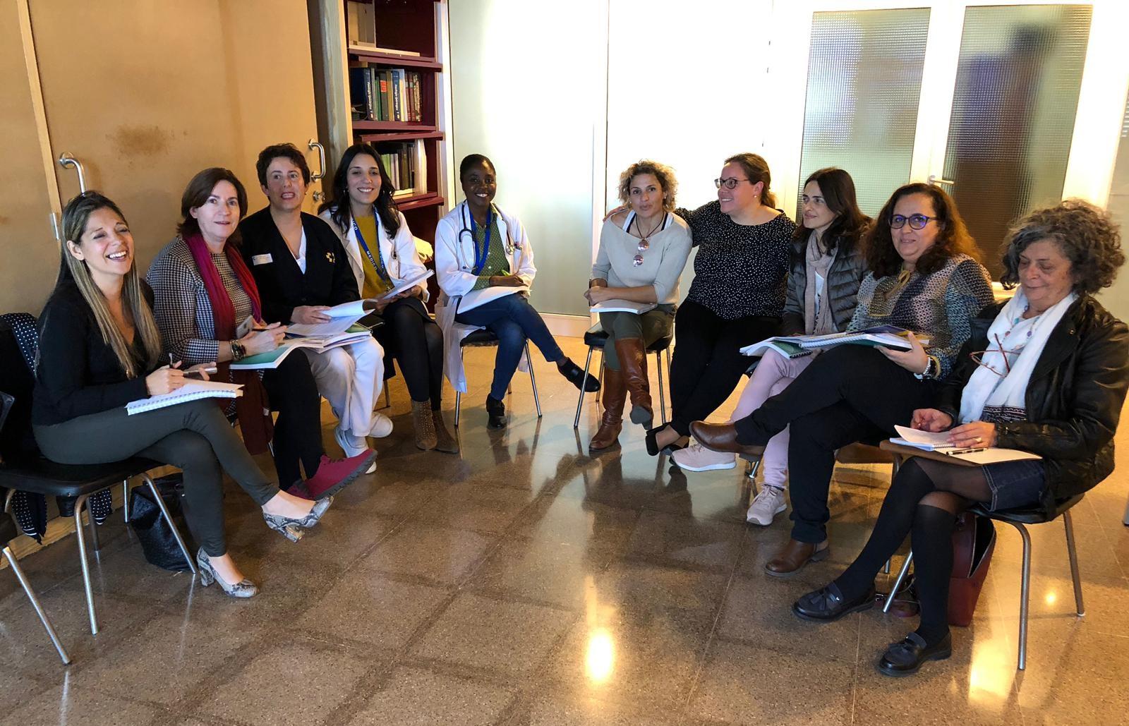 Reunión profesionales sanitarios de La Palma.