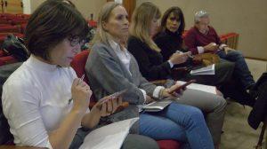 Asistentes votación Lanzarote Plan de Turismo