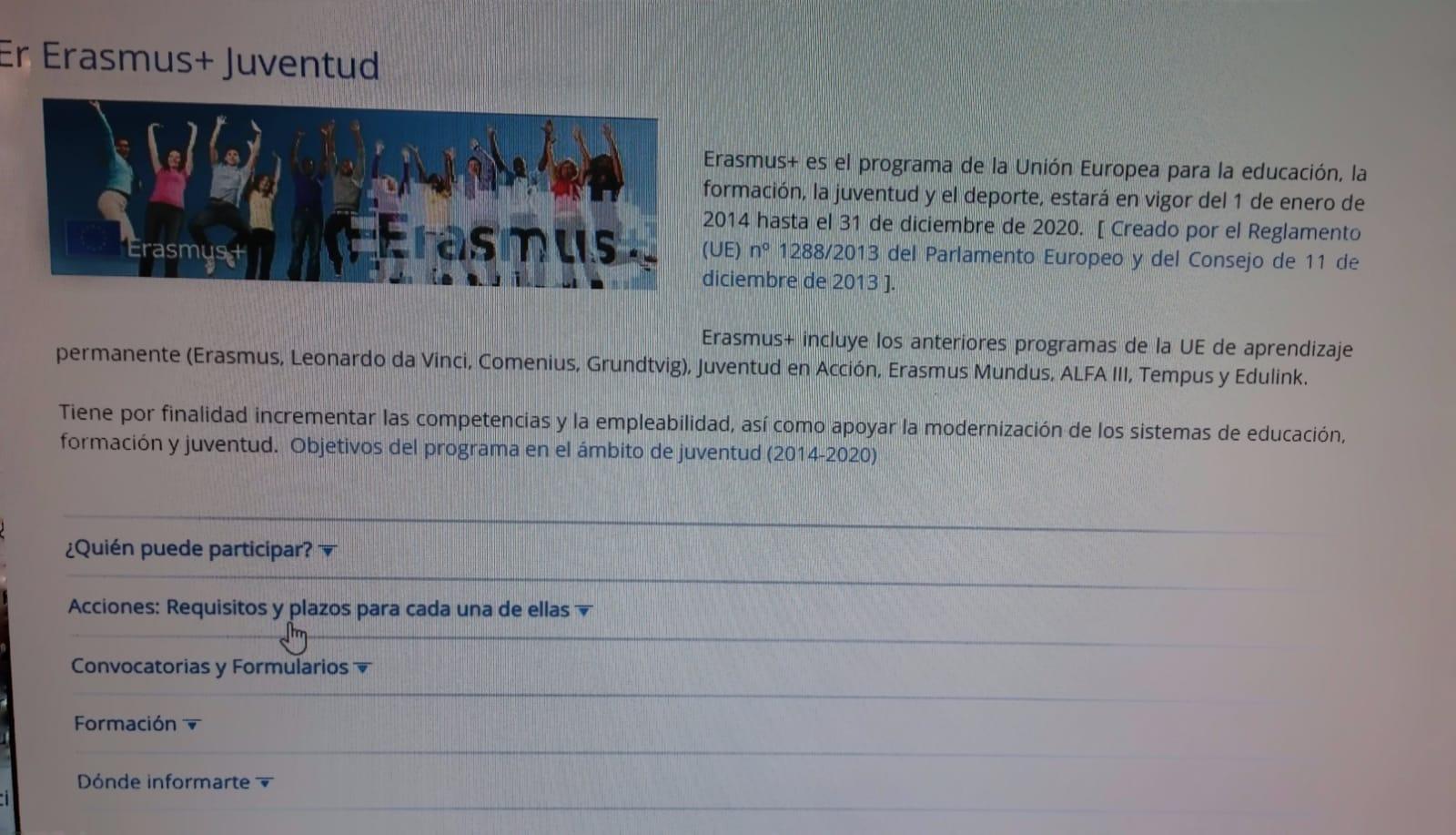 Entidades Canarias obtienen financiación para proyectos de Erasmus+