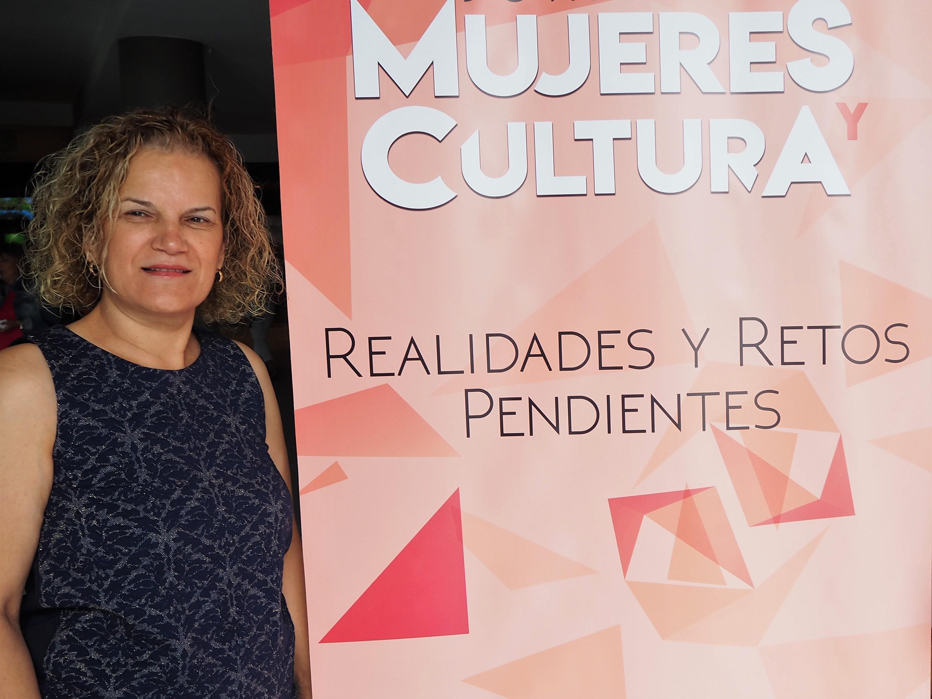 Aurora Moreno, directora general de Promoción Cultural