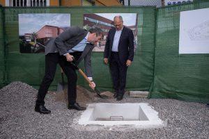 Primera piedra del Centro Sociosanitario de La Gomera