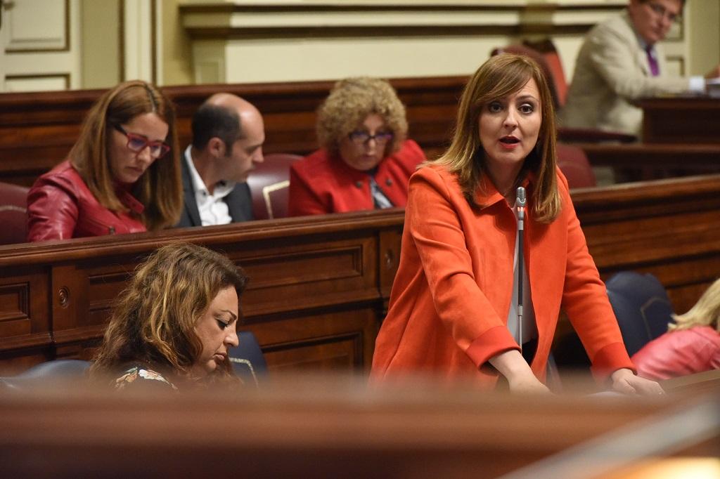 Nieves Lady Barreto en la Cámara regional