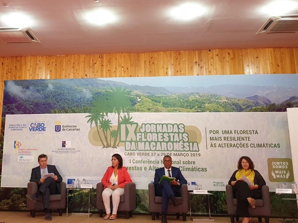 Blanca Pérez en las Jornadas Forestales de la Macaronesia