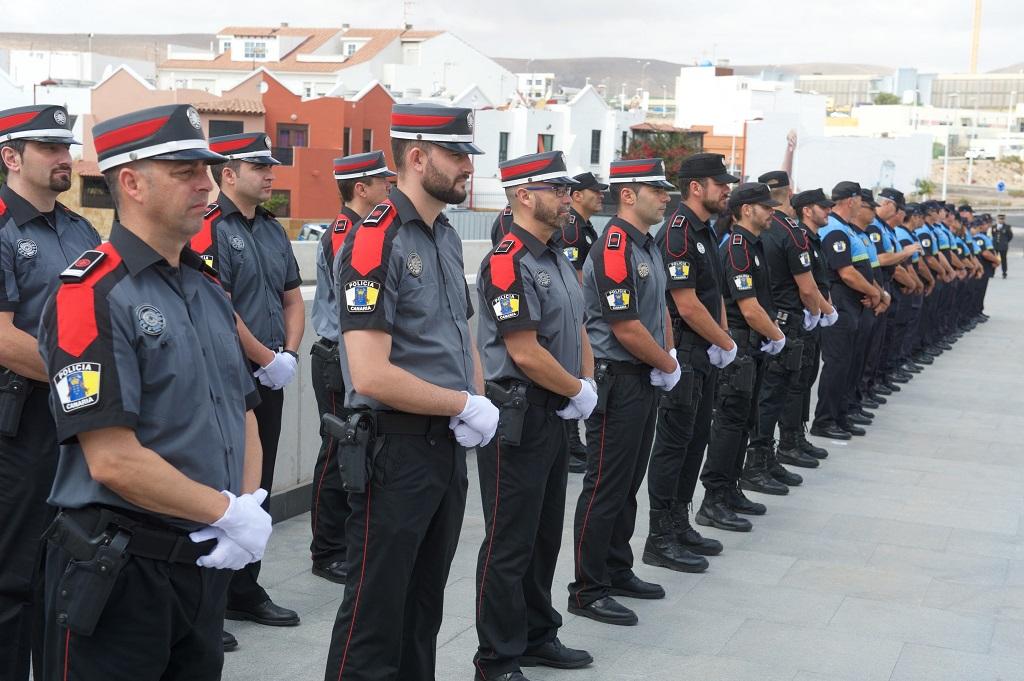 Imagen de miembros de la Policía Autonómica