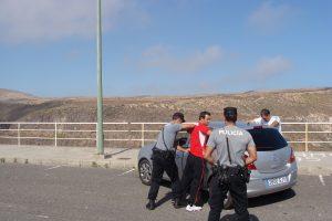 Imagen de práctica de curso de detención policial