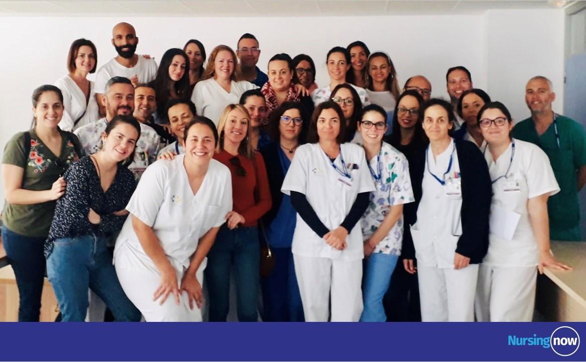 Asistentes a charla Nursing Now Fuerteventura