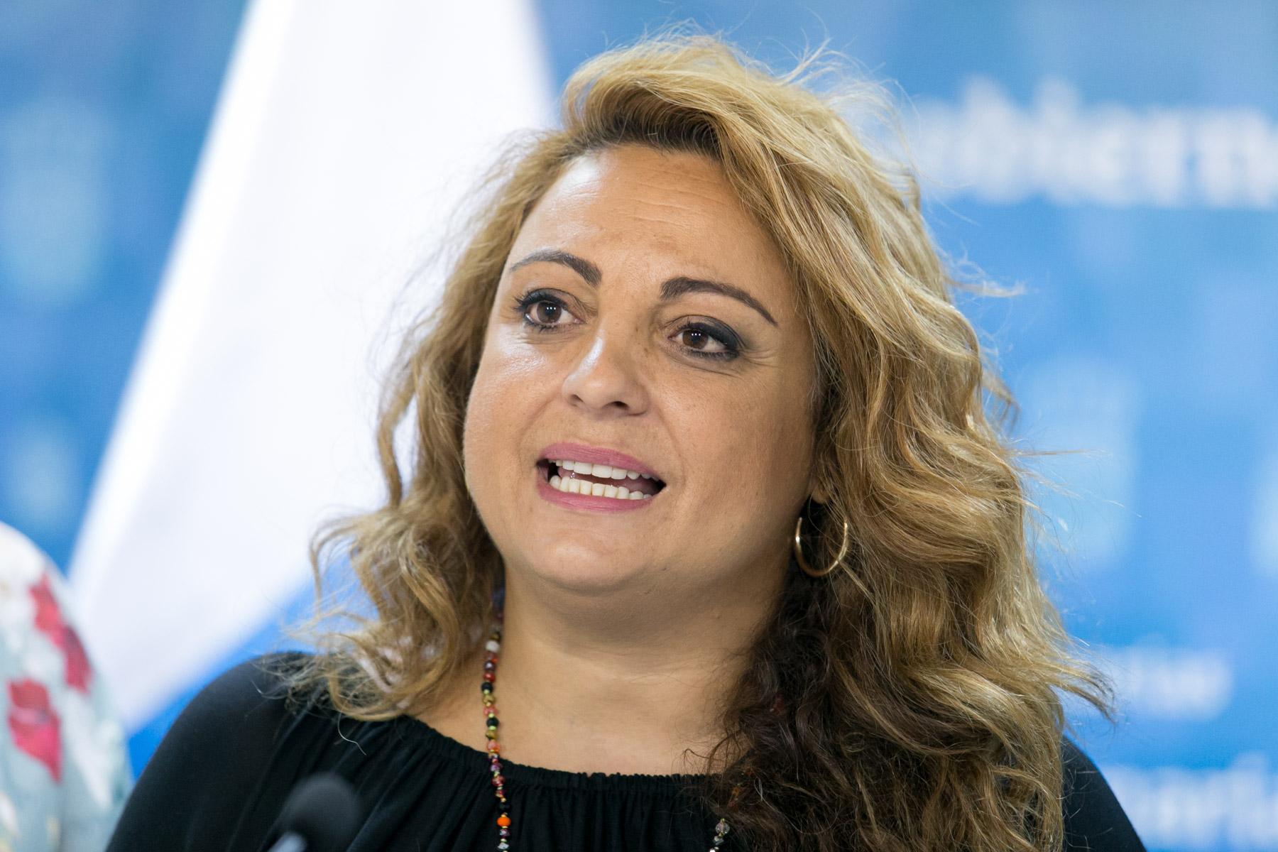 La consejera Cristina Valido aplaude el compromiso social por erradicar las injusticias de género, pero recuerda que aún queda por avanzar.