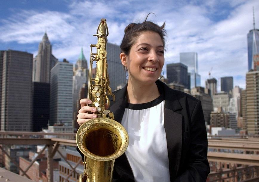 La saxofonista Berta Moreno en los 'Jueves de Master Class'