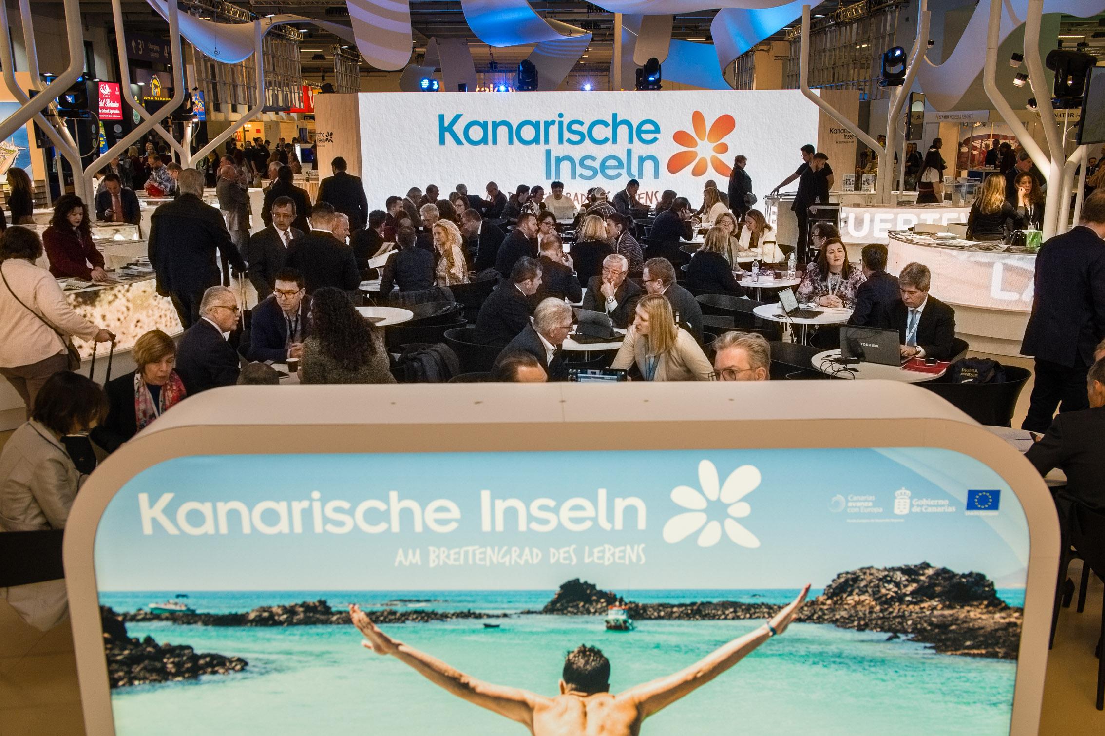 Actividad del Pabellón de Canarias en la ITB de Berlín