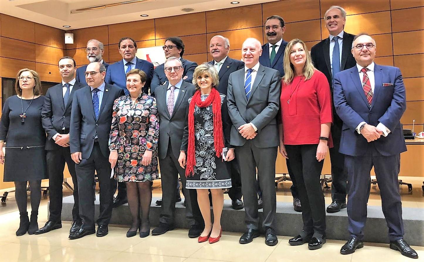 Participantes en el Consejo Interterritorial del SNS