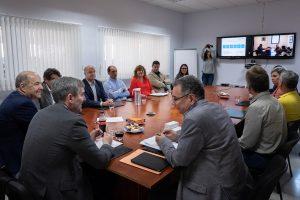 Fernando Clavijo visita el Instituto Tecnológico de Canarias.